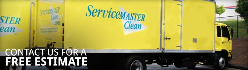 Service Master Clean Truck Services door to door